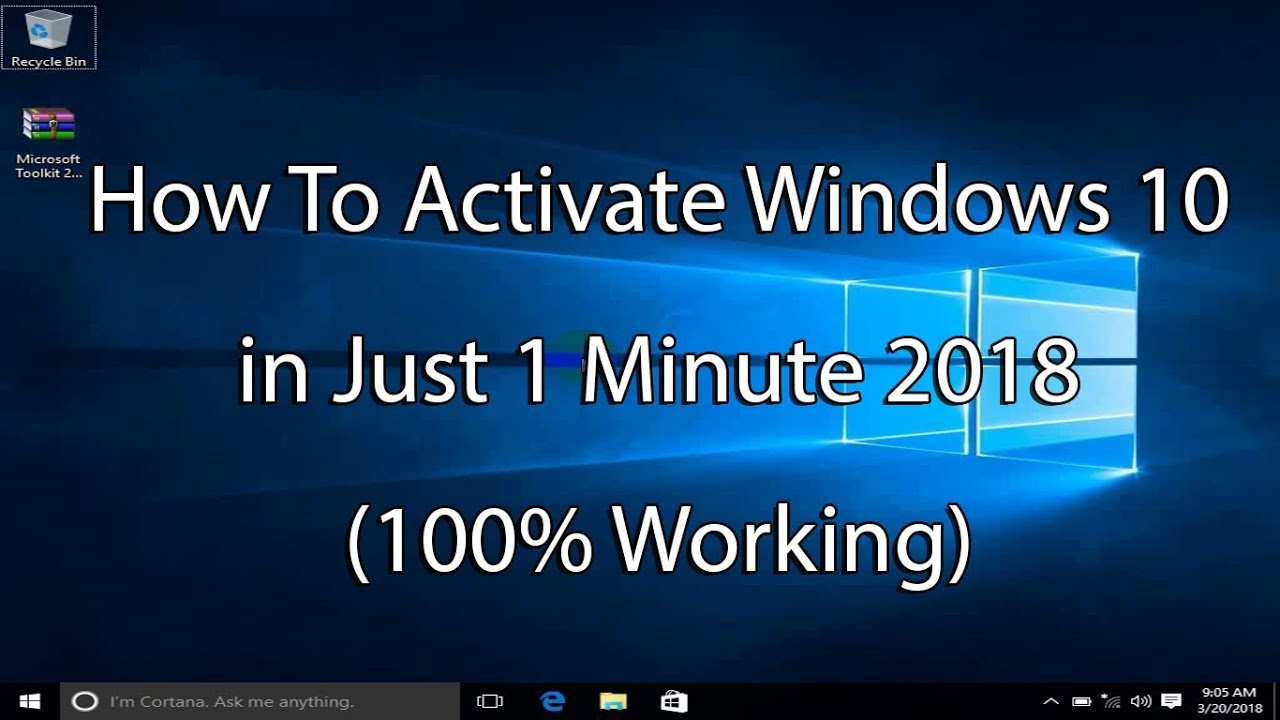 How to activate windows 10 in just 1 minute 2018 100 working how to activate windows 10 in just 1 minute 2018 100 working ccuart Gallery